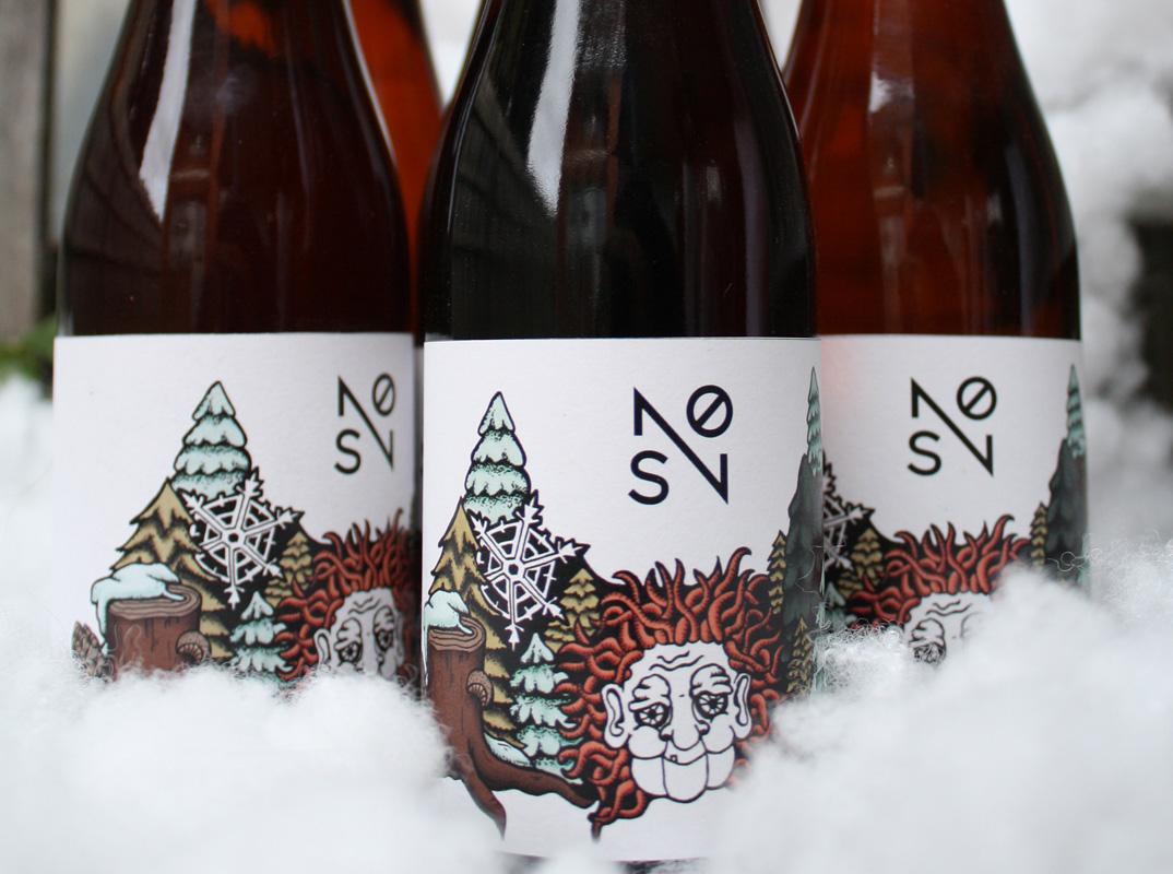 snø-bottles